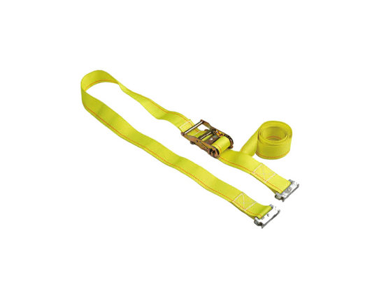 Comfort Plastic Covered Truck Ratchet Cargo Lashing Strap BYRS005-3